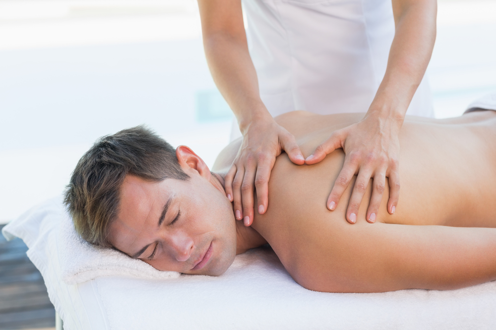 man-getting-massage-